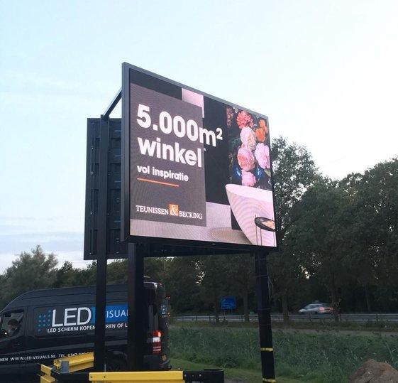 Outdoor LED schermen