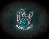 Bowling neon sign - LED Neon Reklame_