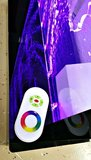 LED bubbel wand 200 x 120 cm_
