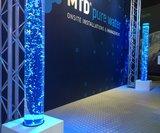 LED bubbel pilaren 200 x 20 cm_