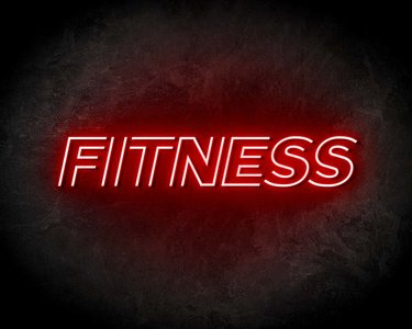 FITNESS neon sign - LED Neon Reklame