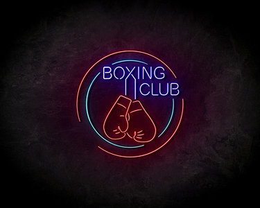 Boxing Club neon sign - LED Neon Reklame