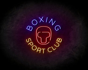 Boxing Sport Club neon sign - LED Neon Reklame