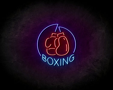 Boxing neon sign - LED Neon Reklame