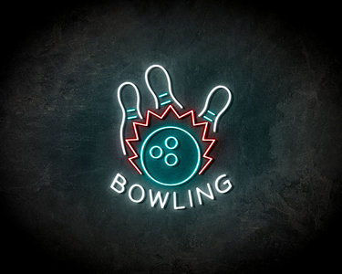Bowling neon sign - LED Neon Reklame