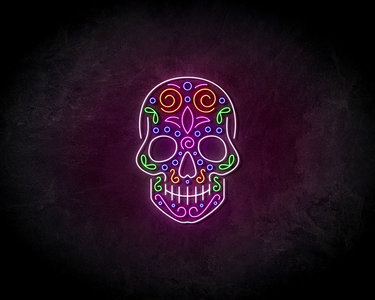 Skeleton party neon sign - LED Neon Reklame