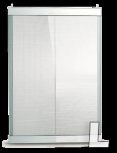 Transparant LED poster scherm 1067 x 801 mm