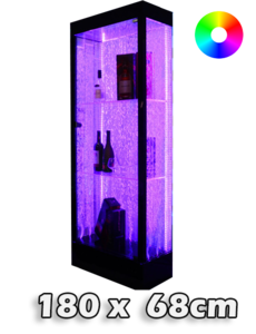 LED bubbel kast 180 x 68 x 31 cm