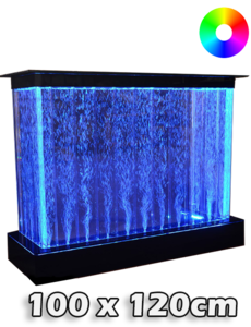 LED bubbel bar 100 x 120 x 40 cm