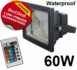 RGB LED bouwlamp 60W _